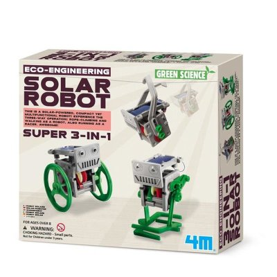Green Science Mini Solar Robot 3 in 1