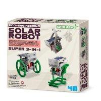 Green Science Mini Solar Robot 3 in 1