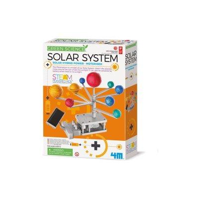 Green Science Sonnensystem Solar Hybrid