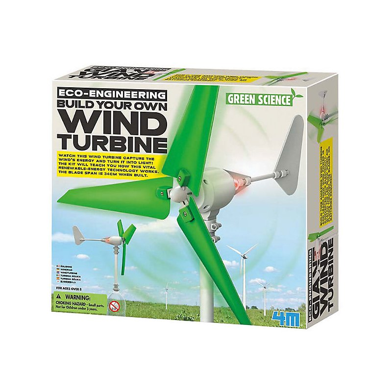 Green Science Windturbine