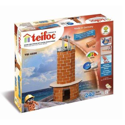 Teifoc Steinbaukasten Leuchtturm 4350