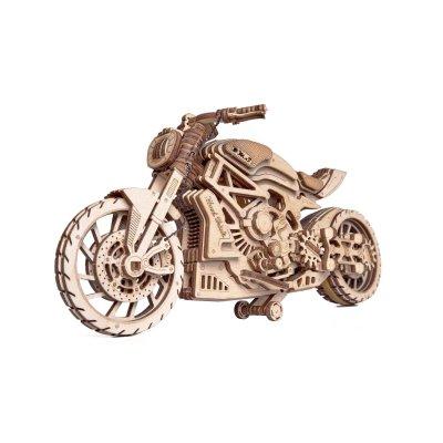 Holzbausatz Motorrad