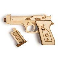 Holzbausatz Pistole