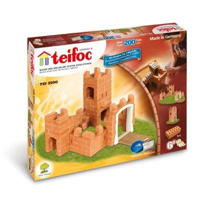Teifoc Steinbaukasten Burg 3500