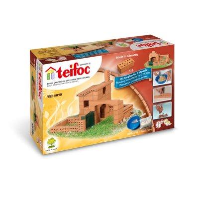 Teifoc Steinbaukasten Haus 4010