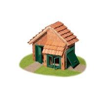 Teifoc Steinbaukasten Haus mit Ziegeldach 4210
