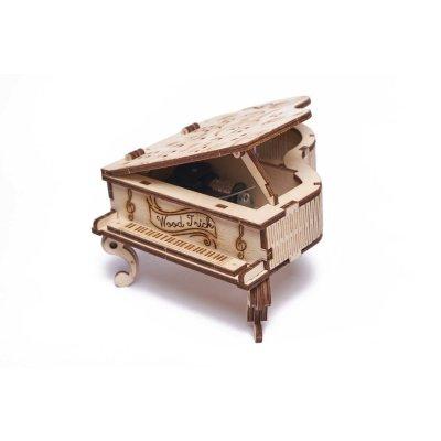 Holzbausatz Klavier