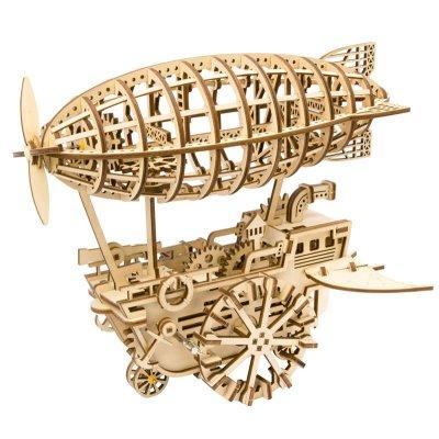 Holzbausatz Luftschiff