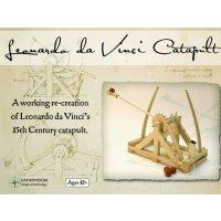 Bausatz Leonardo Da Vinci Katapult