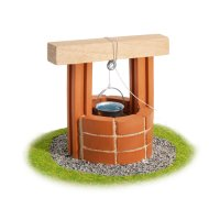 Teifoc Steinbaukasten Brunnen 1025