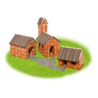 Teifoc Steinbaukasten Dorf 4310