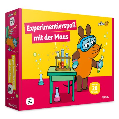 Franzis Experimentierspaß mit der Maus