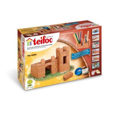 Teifoc Steinbaukasten Burg/Stifthalter 4000