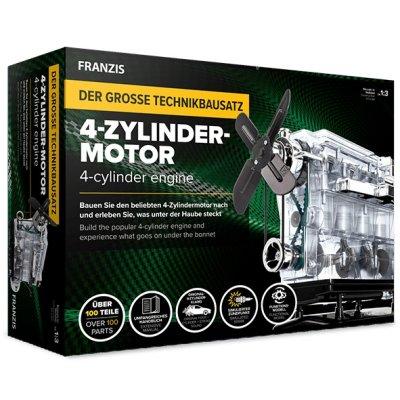 Franzis Der große Technikbausatz - 4-Zylinder-Motor