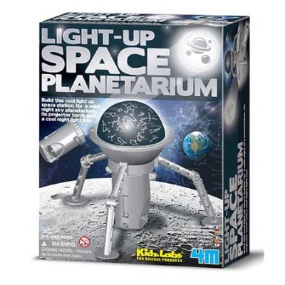 4M KidzLabs Light-Up Space Planetarium