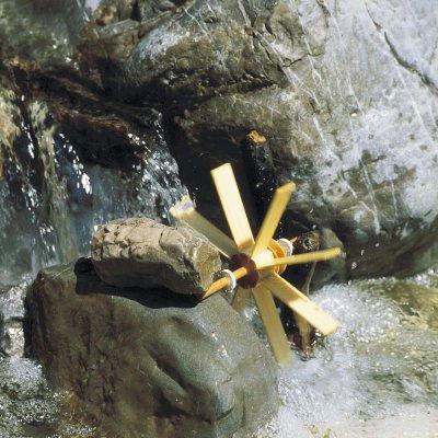 Kraul Bausatz Kleines Wasserrad